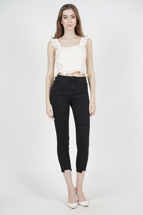 Prisa Denim Jeans in Black - Online Exclusive