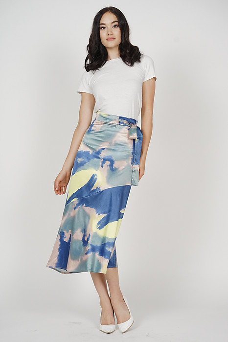 Adamia Abstract Skirt in Multi