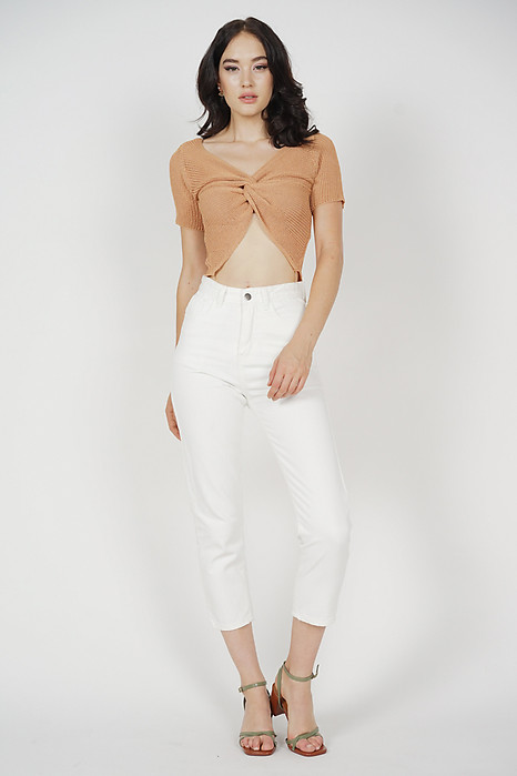 Edward Jeans in White - Online Exclusive