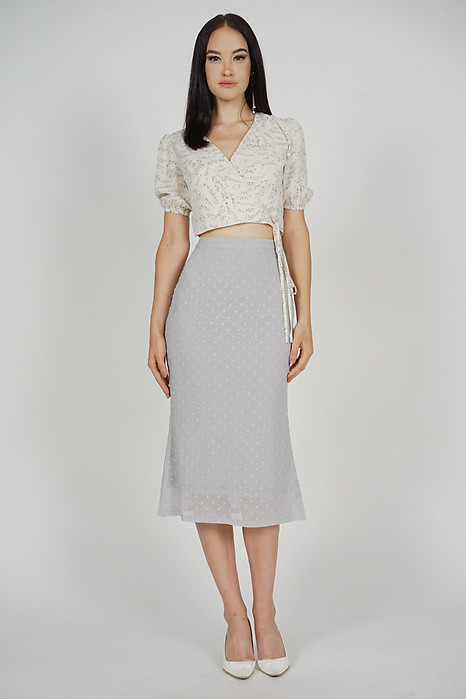 Freda Skirt in Ash Blue - Arriving Soon
