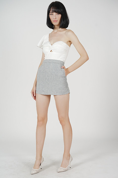 Aelo Mini Skorts in Grey
