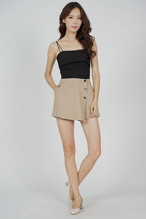 Ollea Mini Skorts in Cream - Online Exclusive