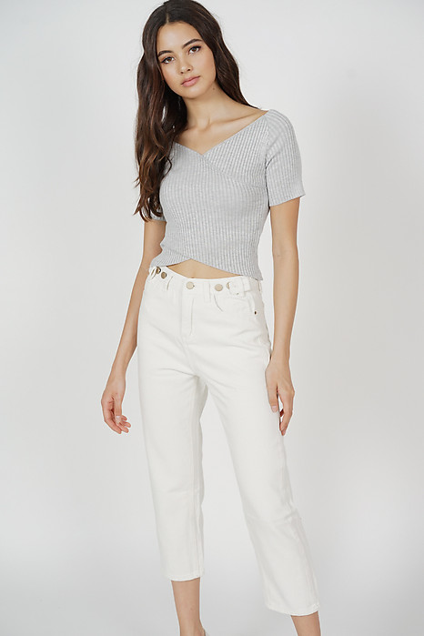 Fresa Jeans in White - Online Exclusive