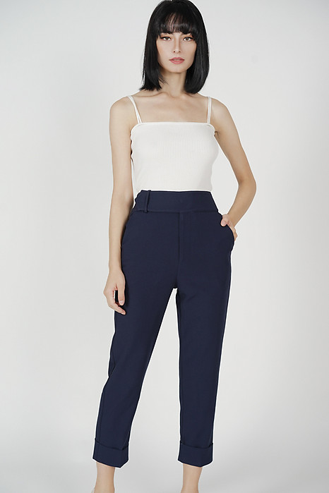 Zakari Straight Pants in Midnight - Arriving Soon