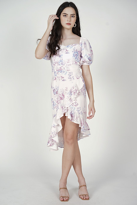 Blona Ruffled Skirt in Lavender Floral - Arriving Soon