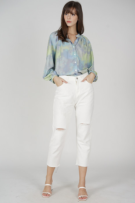 Jolli Jeans in White - Online Exclusive