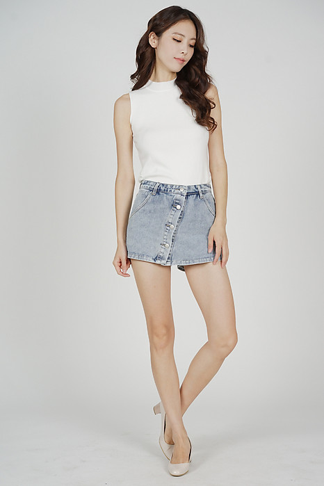 Maby Knit Top in White - Arriving Soon