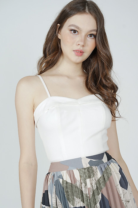 Haldis Cami Top in White - Arriving Soon