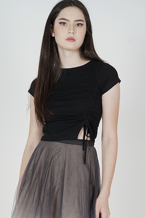 Calene Top in Black - Arriving Soon