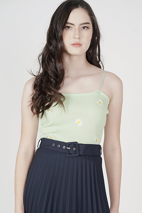 Jillian Cami Top in Lime - Online Exclusive