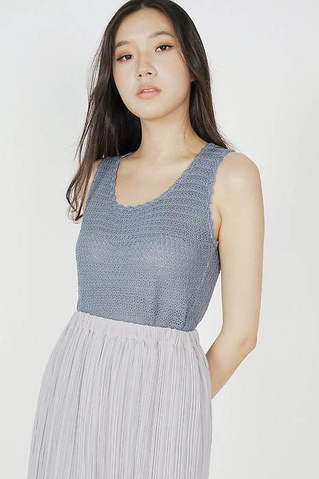Rutheas Top in Grey - Online Exclusive