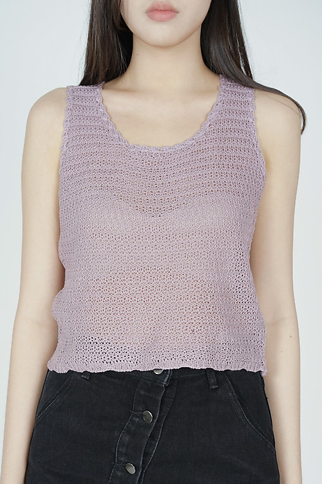 Rutheas Top in Purple - Online Exclusive