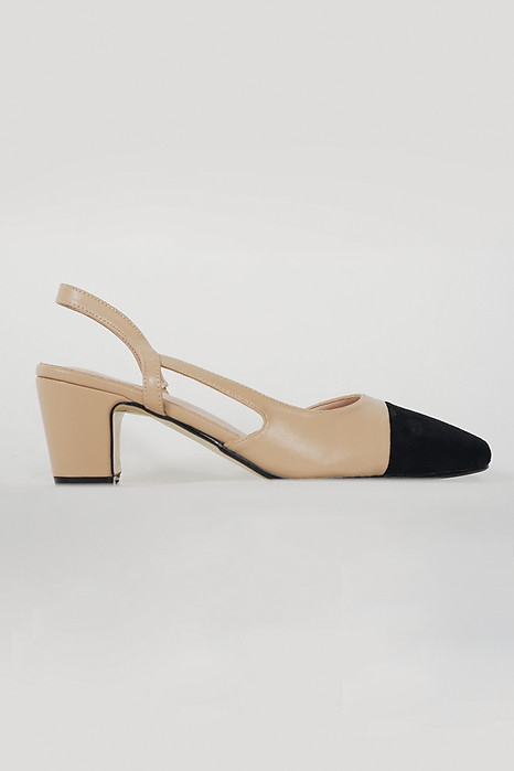 Signature Pumps in Beige - Arriving Soon