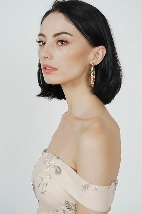 Lucia Hoop Earrings in Bronze -  Arriving Soon