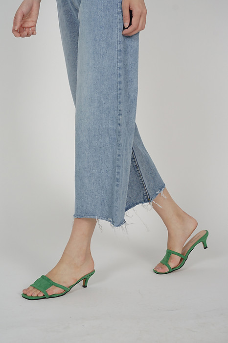 Krista Mules in Green - Arriving Soon