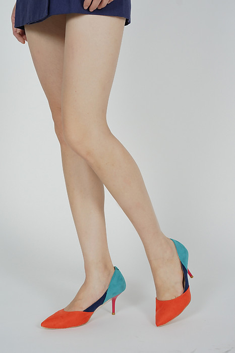 Zarin Colourblock Heels - Arriving Soon