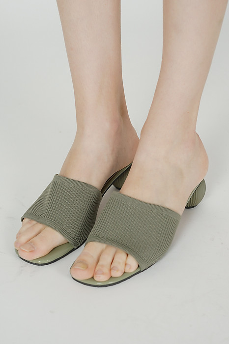 Esther Mules in Forest Green - Arriving Soon