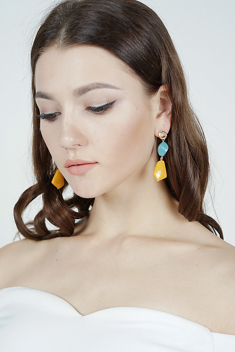 Gina Earrings in Mustard  - Arriving Soon