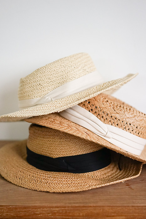 Parissa Straw Hat in Khaki - Arriving Soon