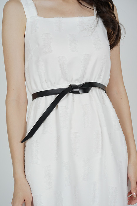 Knotted Belt in Black - Arriving Soon