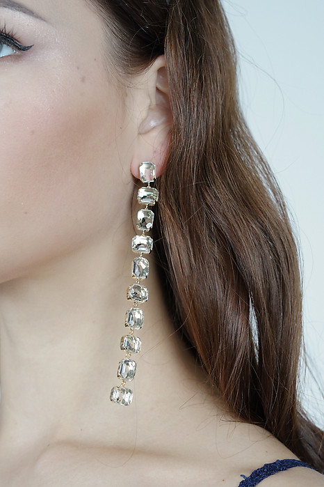 Angela Crystalline Earrings