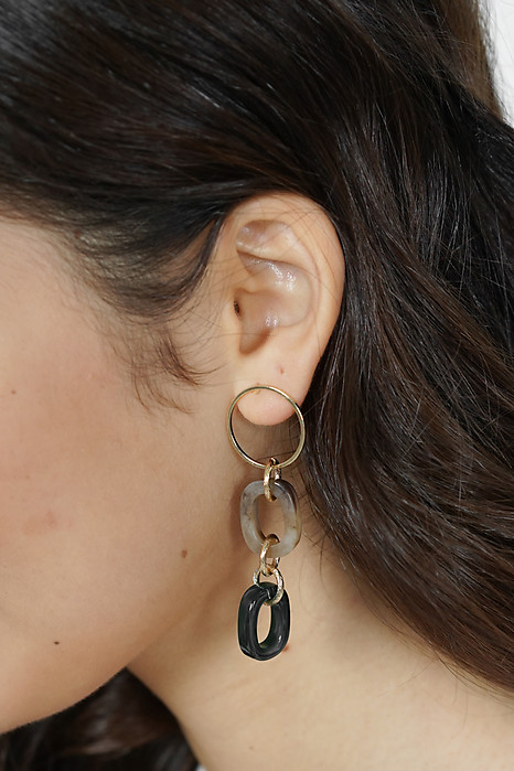 Lenka Earrings in Green - Arriving Soon