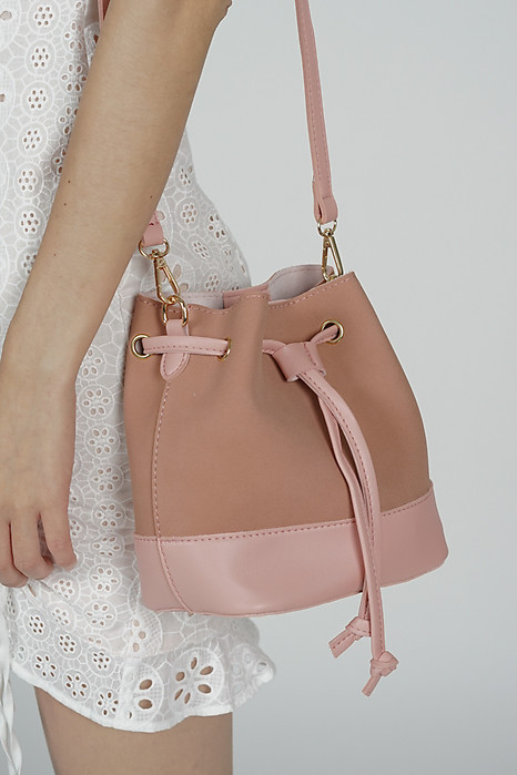 Fiori Bucket Bag in Blush - Arriving Soon