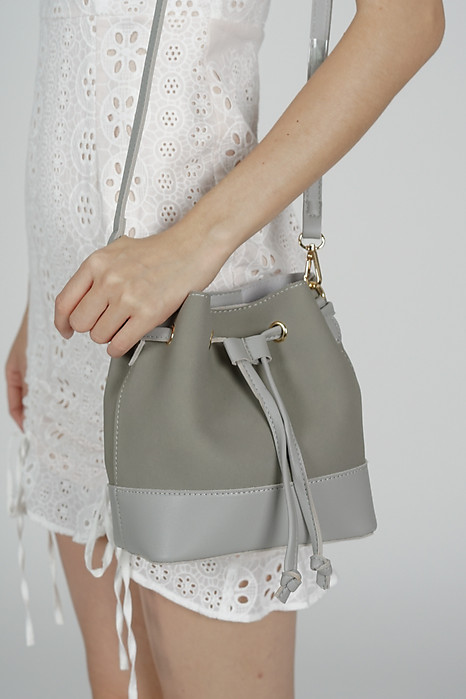 Fiori Bucket Bag in Ash Grey - Arriving Soon