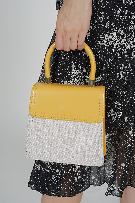 Shay Tote in Mustard - Arriving Soon