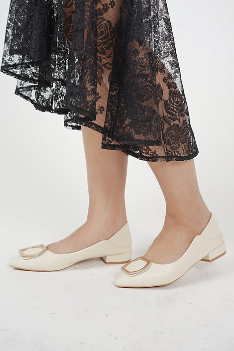 Klorra Flats in Cream - Arriving Soon