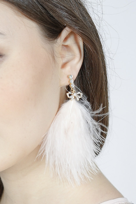 Malone Earrings in Pink - Arriving Soon