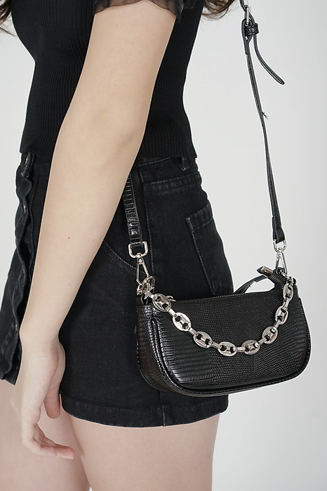 Cassie Mini Bag in Black - Arriving Soon