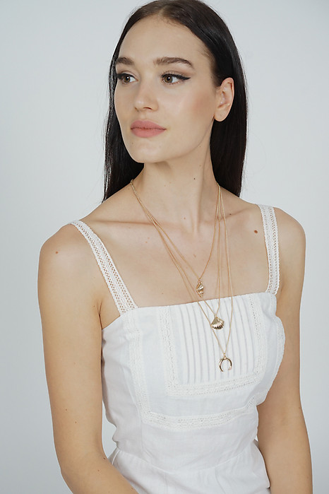 Nellie Tiered Necklace in Gold - Arriving Soon
