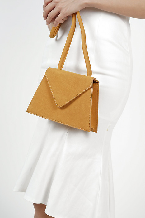 Luca Envelope Tote in Mustard- Arriving Soon