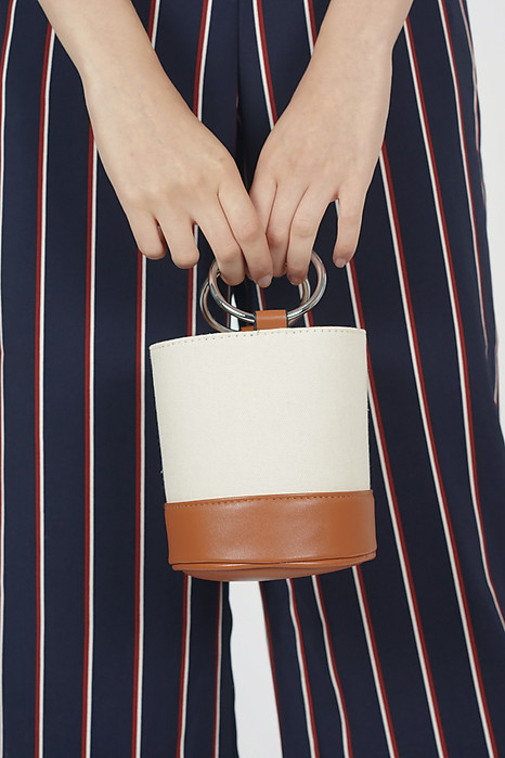 Mini Canvas Bucket Bag - Arriving Soon