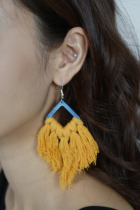Gael Earrings in Mustard - Arriving Soon
