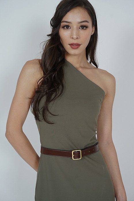 Aliya Belt in Brown