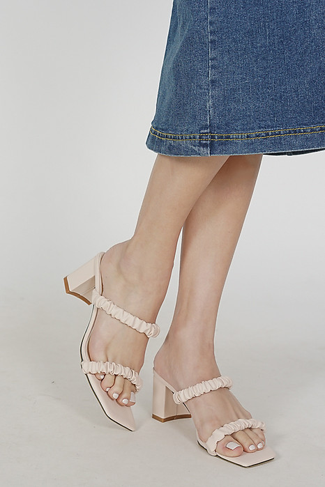 ilana Heels in Cream - Arriving Soon