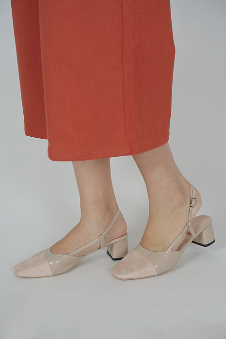 Joreana Slingbacks in Cream - Arriving Soon
