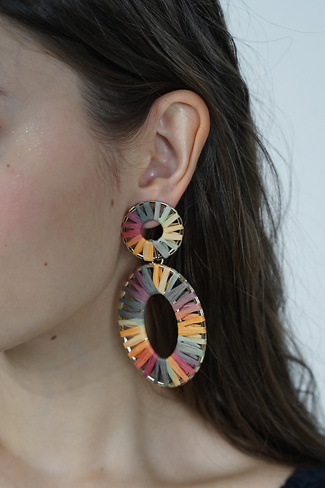 Circulo Earrings in Rainbow - Arriving Soon
