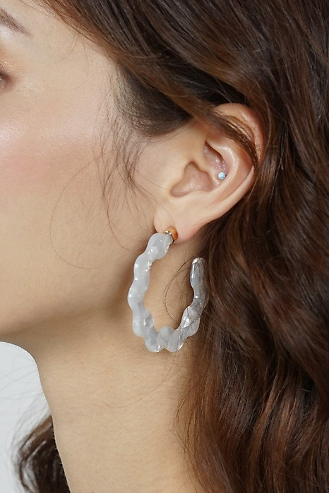 Edith Earrings in Ivory - Arriving Soon