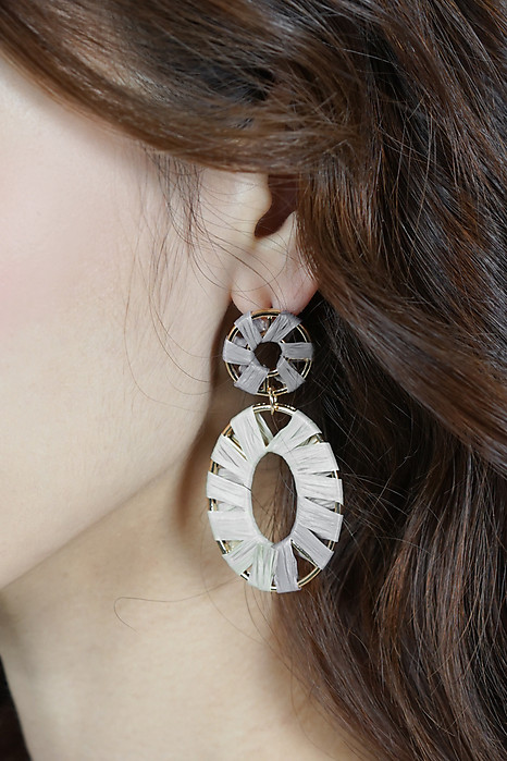 Sayrie Earrings in Cream - Arriving Soon