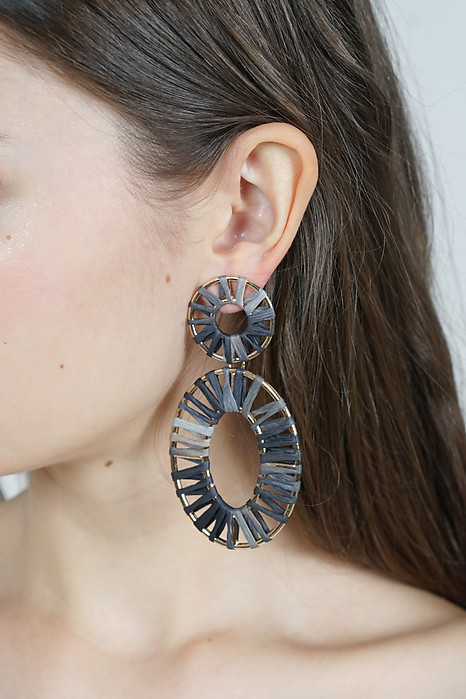 Circulo Earrings in Monochrome - Arriving Soon