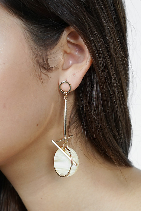 Carsie Resin Drop Earrings - Arriving Soon