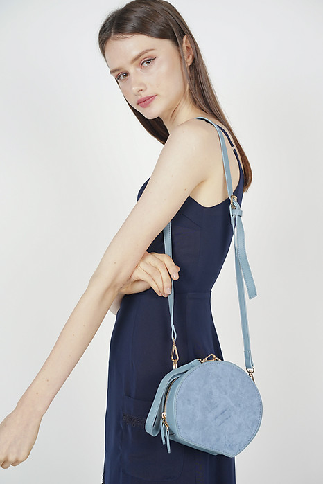 Medallion Bag in Baby Blue - Arriving Soon