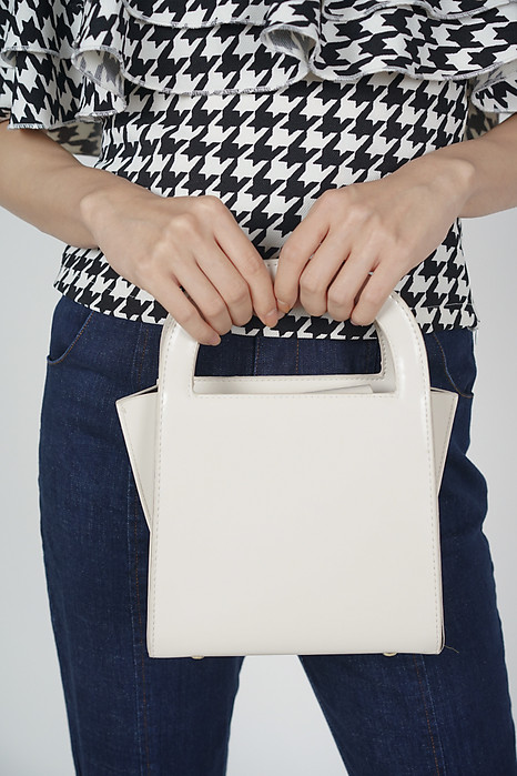 Package Tote in Pearl White - Arriving Soon