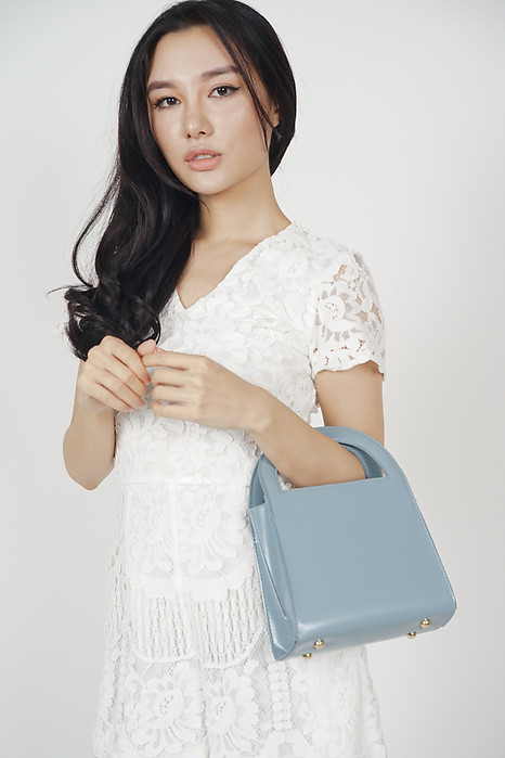 Package Tote in Baby Blue - Arriving Soon