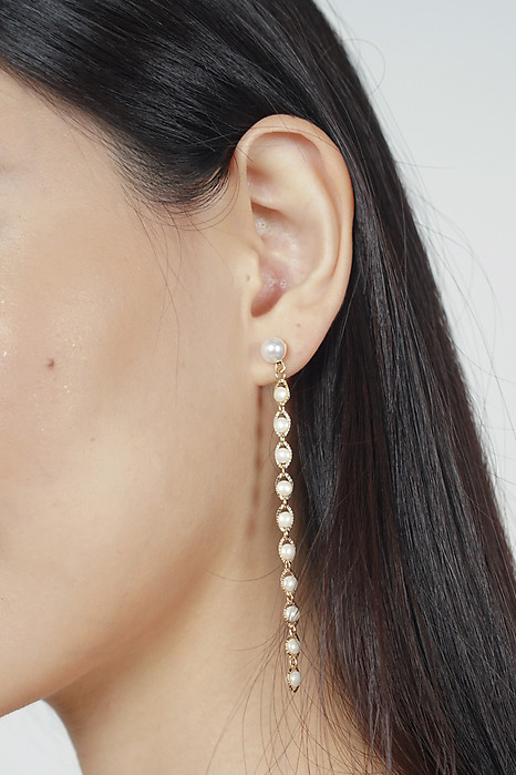 String of Pearl Earrings - Arriving Soon