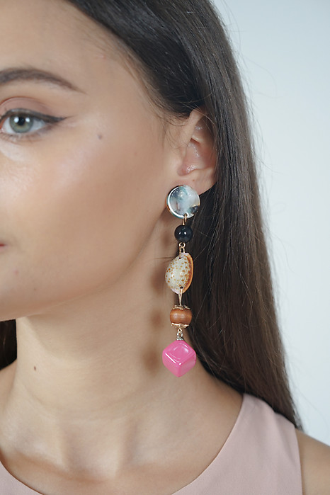 Long Drop Seashell Earrings - Arriving Soon