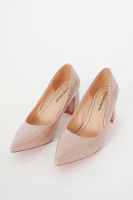 Ebba Pumps in Nude - Arriving Soon